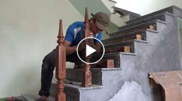 This Is How You Building Stair Wooden - Woodworking Projects, Install Stair Wooden In The House