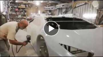 Lamborghini Huracan Replica Project Lebanon Beirut part 5
