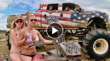 Mud Boggin In Florida - Redneck Mud Park