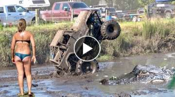 Water Wheeling ATV's and Mud Trucks