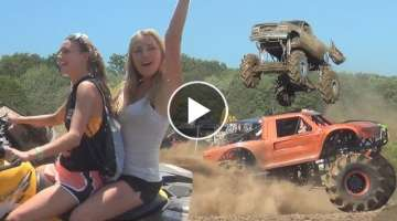 TRUCKS GONE WILD...MAXIMUM POWER PARK 2016...PART 1