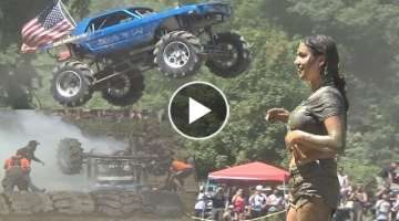 MAXIMUM POWER PARK PT 2.... MEGA TRUCKS