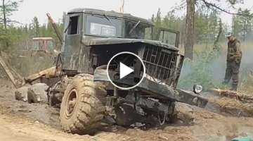 SIBERIA MONSTER #KRAZ OFF ROAD EXTREME BEST KRAZ off road